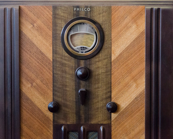 1938 Philco Restoration Process